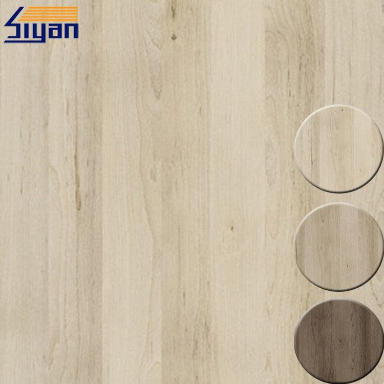 Matte PVC Decorative Film For Furniture , Wood Grain PVC Film